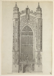 Bath Abbey, West End f.96